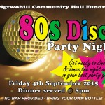 80's Disco Party Night