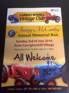 Vintage Run July 3rd 2016